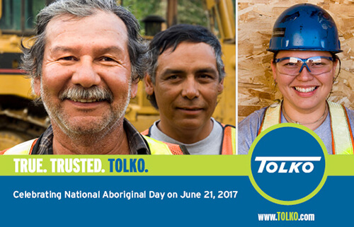 Tolko Celebrates National Aboriginal Day