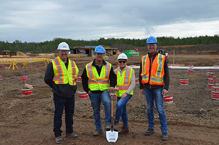Tolko breaks ground on new energy plant that will reduce Alberta's carbon footprint