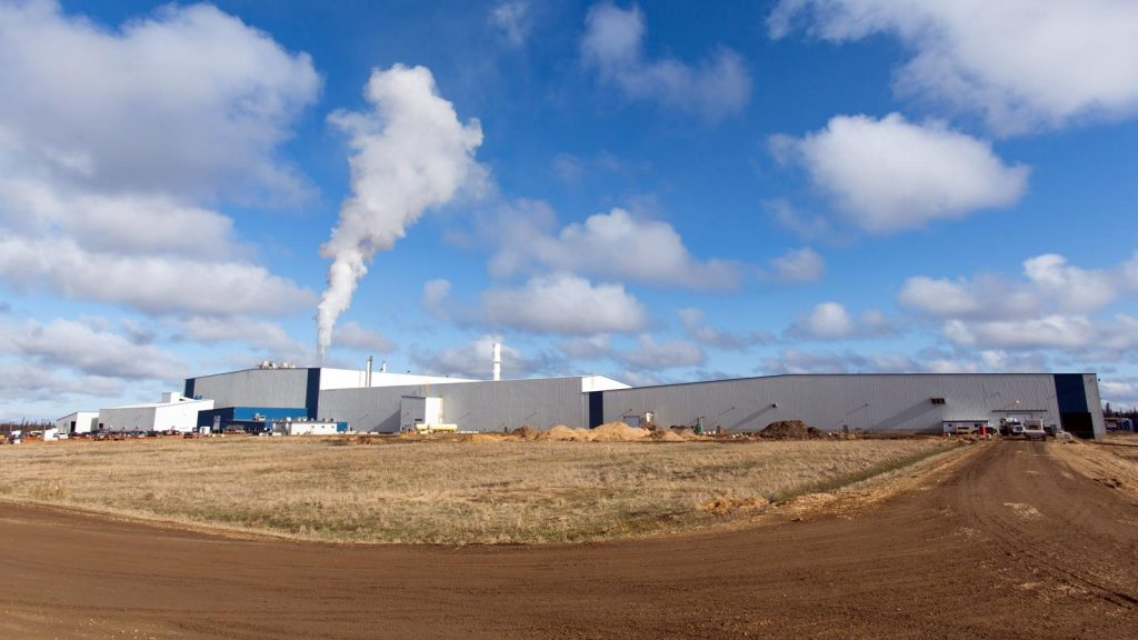 Tolko Athabasca Division facility in Slave Lake, AB