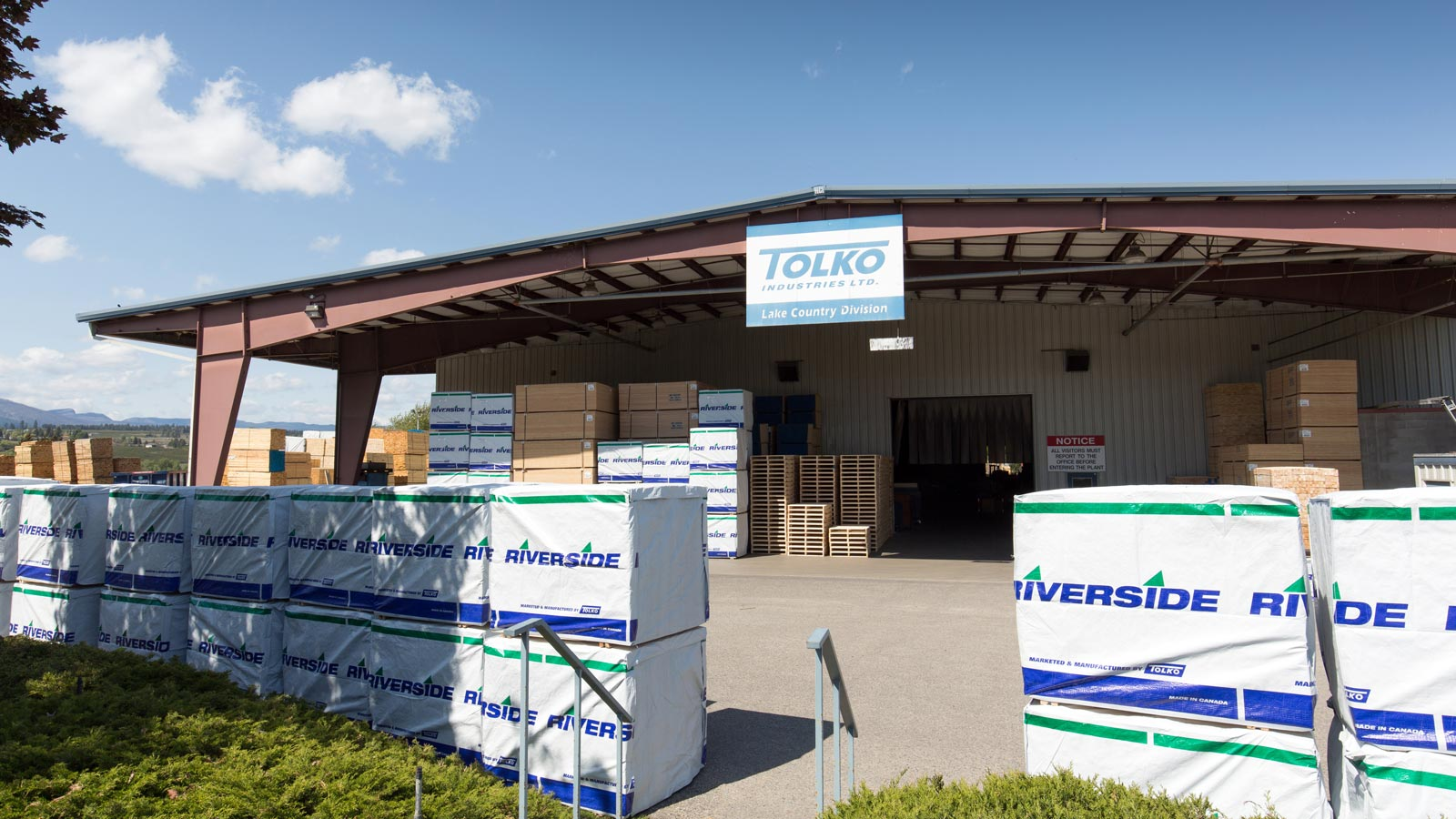 Tolko Lake Country Division facility