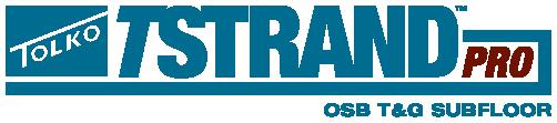 TSTRAND PRO OSB T&G Subfloor logo