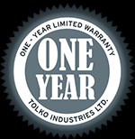 1 Year Limited Warranty emblem