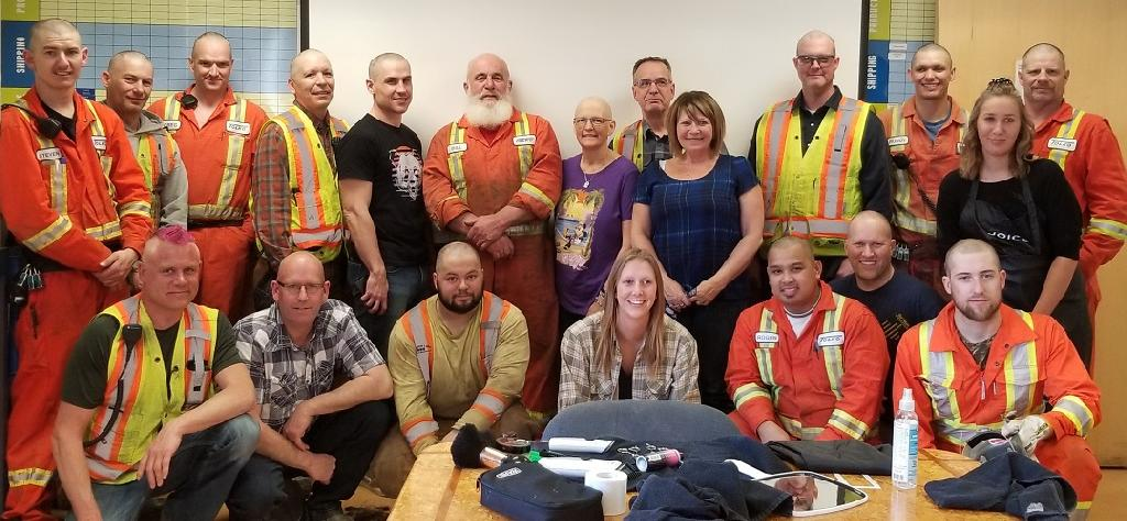 Tolko's Meadow Lake employees raise funds for co-workers taking medical treatment