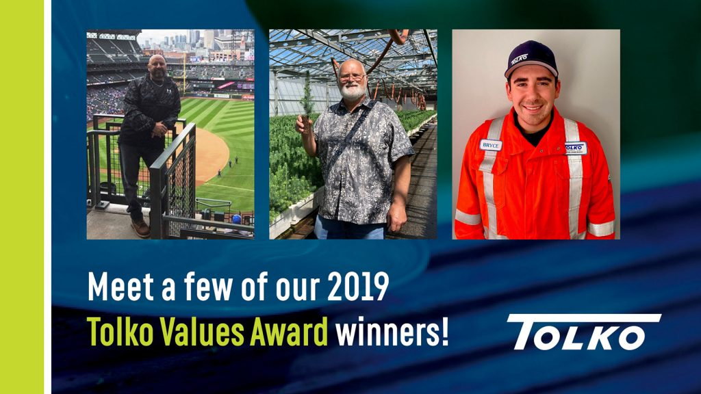 Living Tolko's values: Meet another three of our Values Award winners!