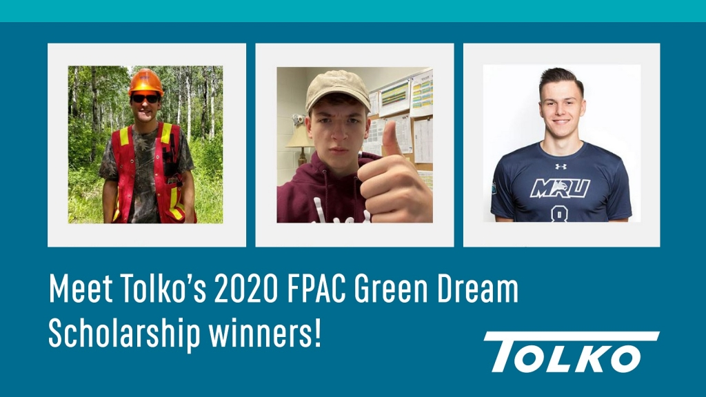FPAC Green Dream Scholarship students reflect on their summer with Tolko