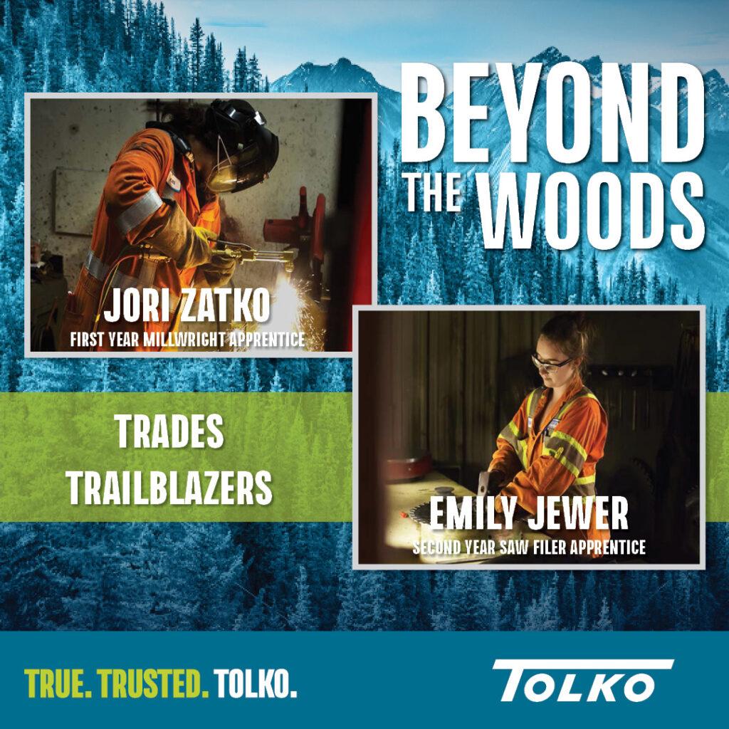 Beyond the Woods: Trades Trailblazers