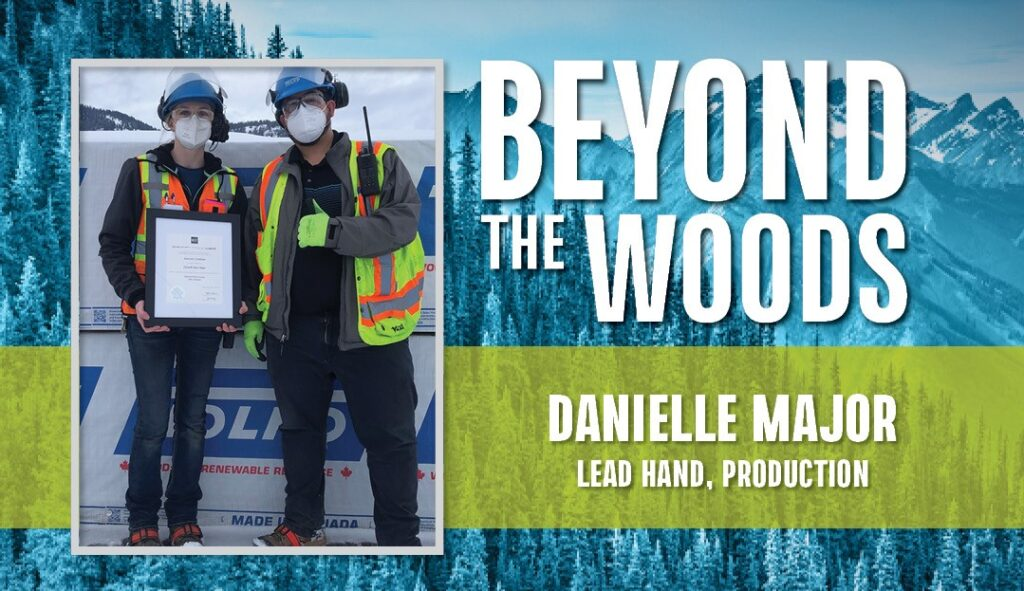 Beyond the Woods: Danielle Major, Lead Hand, Production